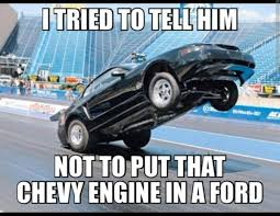 Ford Vs Chevy Meme - funny cool chevy vs ford memes photo quotesbae