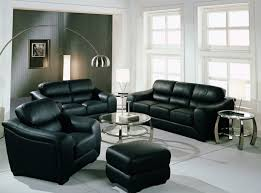 Black Sofa Living Room Living Room Living Room Design With Black Leather Sofa Best