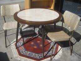 retro kitchen furniture retro table and chairs