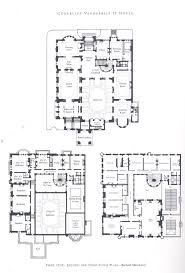 New Floor Plan Vanderbilt Mansion At 1 West 57th St New York City Demolished In
