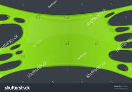 green halloween background frame green sticky slime creepy background stock illustration