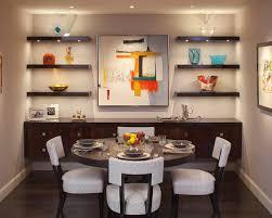 Emejing Dining Room Wall Shelves Ideas Home Design Ideas - Floating shelves in dining room