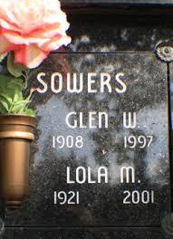 Lola Mazine Johnson Sowers (1921 - 2001) - Find A Grave Memorial - 39669101_124855650242