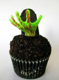zombie halloween cupcakes sweetest kitchen