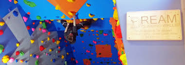 bouldering wall at the pickaquoy leisure centre orkney dream