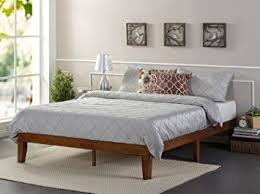 Platform Bed Without Headboard Amazon Com Zinus 12 Inch Wood Platform Bed No Boxspring Needed