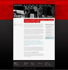 template designs u2014 web content at uofl