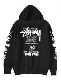 been trill hoodie sweat shirt stussy been trill stussy x been