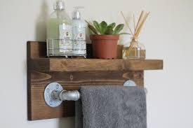 Towel Rack Ideas For Bathroom Rustic Towel Rack Diy Towel Gallery