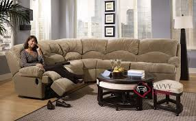 Sectional Sleeper Sofa With Recliners Milan Fabric True Sectional By Savvy Is Fully Customizable By You