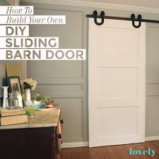 How To Build A Sliding Barn Door How To Build Your Own Diy Sliding Barn Door A Compete Tutorial