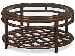 thomasville round coffee table thomasville lantau 82631 171 round coffee table w wood framed