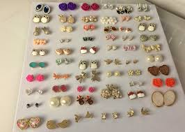 organize stud earrings diy stud earring holder 12 inexpensive and diy ways to organize