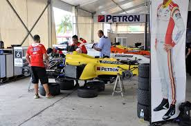 formula 4 car petron supplied fuel u0026 engine oil to formula 4 sea final leg