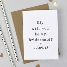 bridesmaid asking cards will you be my bridesmaid gift ideas notonthehighstreet
