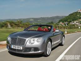 old bentley continental 2012 bentley continental gtc european car magazine