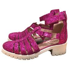 pink leather chiara ferragni sandals vestiaire collective