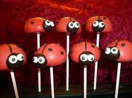 ladybug cake pops bug cake pops these cuties would be a great su flickr