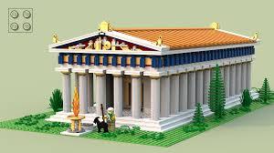greek temple floor plan lego ideas greek temple of poseidon
