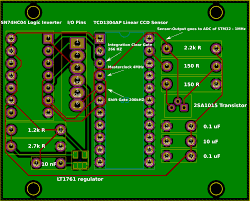 layout pcb inverter noisy signals with 2 layer pcb what s wrong with my design