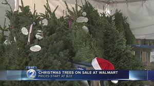trees on sale before thanksgiving at walmart