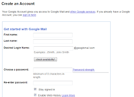 Gmail Sign Up How To Block Spam With A Secondary Email Account Ghacks Tech News