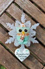 First Christmas Personalized Ornaments - baby u0027s first christmas personalized ornament https www etsy com
