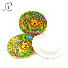 aliexpress com buy party supplies jungle animals lion theme for