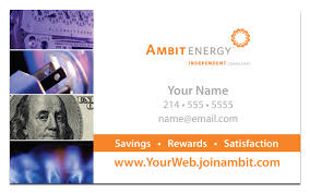 ambit energy business card template 100 images nc ec update 6