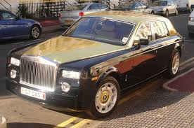 Gold Rolls Royce Phantom Automobile For Life