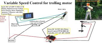 how to build a variable speed controller for trolling motor aka