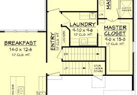 farmington house plan house plan zone farmington basement stair location
