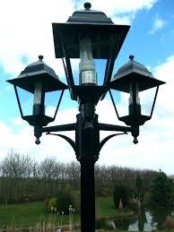 Outdoor Commercial Lights Modern Outdoor Post Light Fixtures Medium Size Of Commercial
