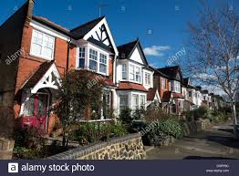 free photos of houses row of houses in farrer road hornsey north london england uk