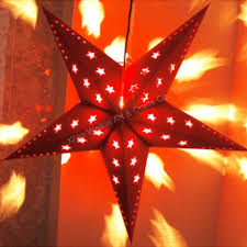 3d paper christmas star with light buy paper christmas star with