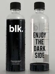 porsche water bottle enjoy the dark side of water with blk water created in canada