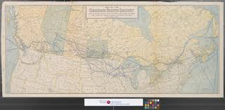 Canadian Pacific Railway Map Map Of The Canadian Pacific Railway The Minneapolis St Paul