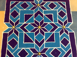 rangoli patterns using mathematical shapes lessons tes teach