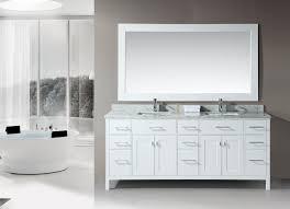 Bathroom Mirrors White by Rustic Double Sink Bathroom Vanity Floating Mirror White Marble