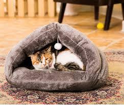 new arrivial warm winter modern pet cat sleeping bag fleece warm