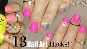 diy 13 nais art hacks for nail stripping tape 3 easy summer