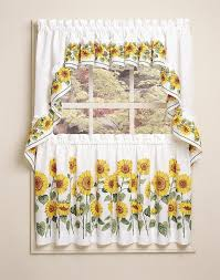Walmart Kitchen Curtains Superb Sunflower Kitchen Curtains 116 Sunflower Kitchen Curtains