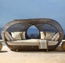 canape d exterieur design meuble d extérieur pas cher canapé de jardin résine tressée inds
