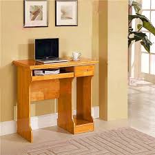 Small Oak Computer Desks For Home Small Wood Computer Desk Kreyol Essence