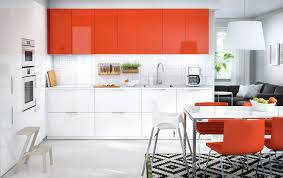Orange And White Kitchen Ideas Ikea Kitchens Pictures Cool Ikea Bodbyn Gray Kitchen With Ikea