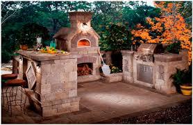 backyards charming backyard wood oven outdoor wood burning pizza
