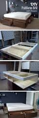 Diy Bed Platform 20 Easy Diy Bed Frame Projects You Can Build On A Budget