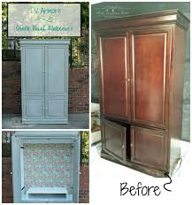Painted Armoire Furniture Chalky Painted Armoire What Treasures Await