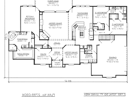 3 bedroom house floor plans with garage2799 0304 room plan lively