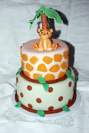 Lion King Baby Shower Cake Ideas - leelees cake abilities lion king baby cake
